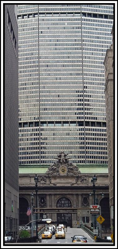Big Slim,  Grand Central Terminal & the MetLife Building, NYC Copyright: Jason Cowling