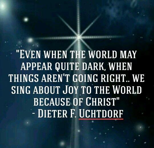 109 Best Christmas Lds Images On Pinterest: Dieter F. Uchtdorf, LDS Christmas Devotional 2015