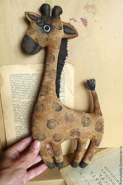 African giraffe - primitive toy