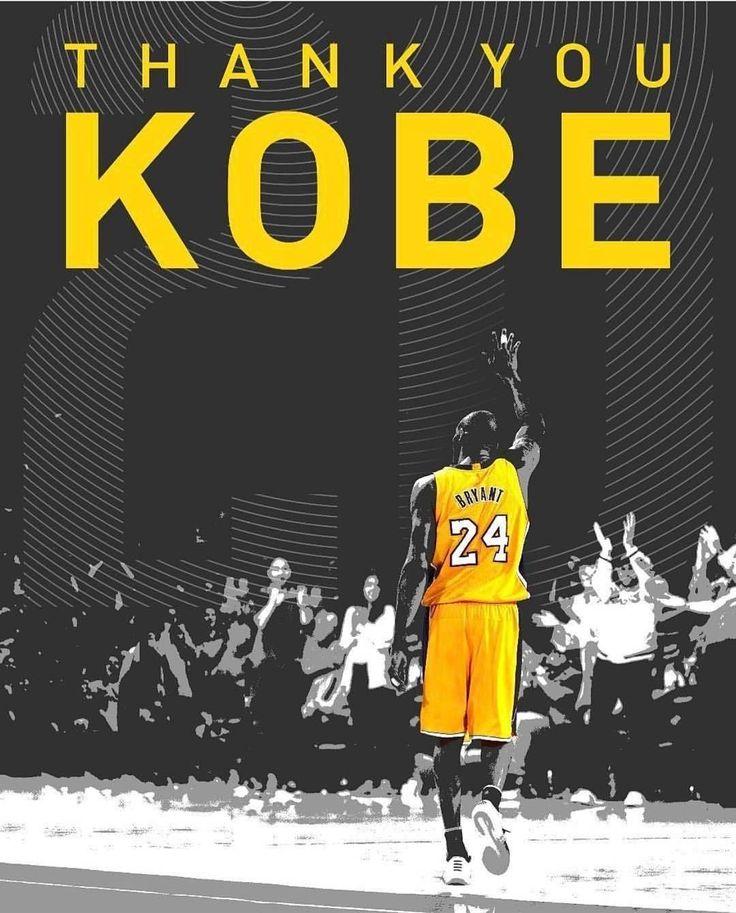 Grazie di tutto Kobe,per me sei stato il più grande
