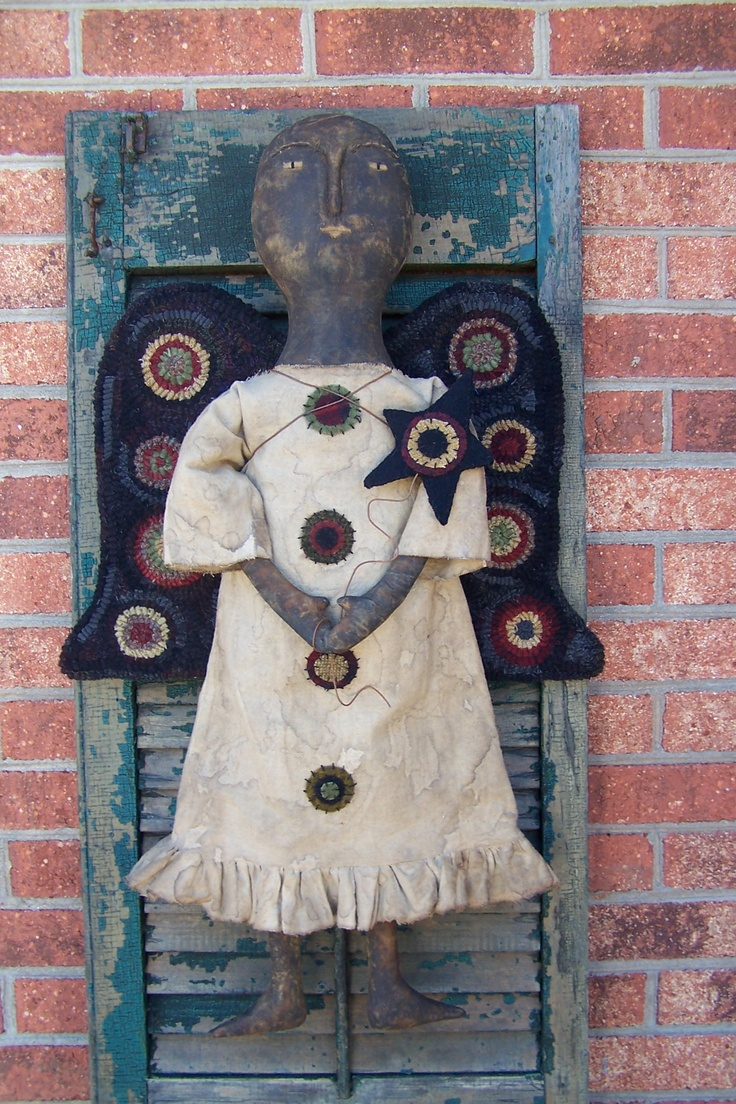 220 best primitive dolls images on pinterest primitive crafts