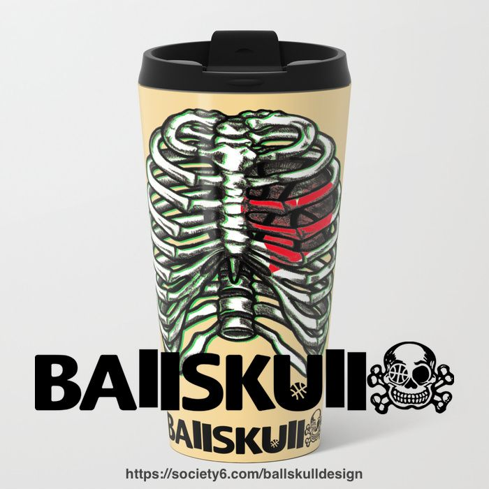 #BAllSKUll Ribmug #Art #ribs #mug #travelmug #bball #basketball #hoop #skull #bone #skeleton #バスケ #バスケットボール #スカル #あばら http://ift.tt/2FQhGZa   20% Off Everything With Code: GETART20 - Sale Ends Tonight at Midnight PT! http://ift.tt/2EDX7hE