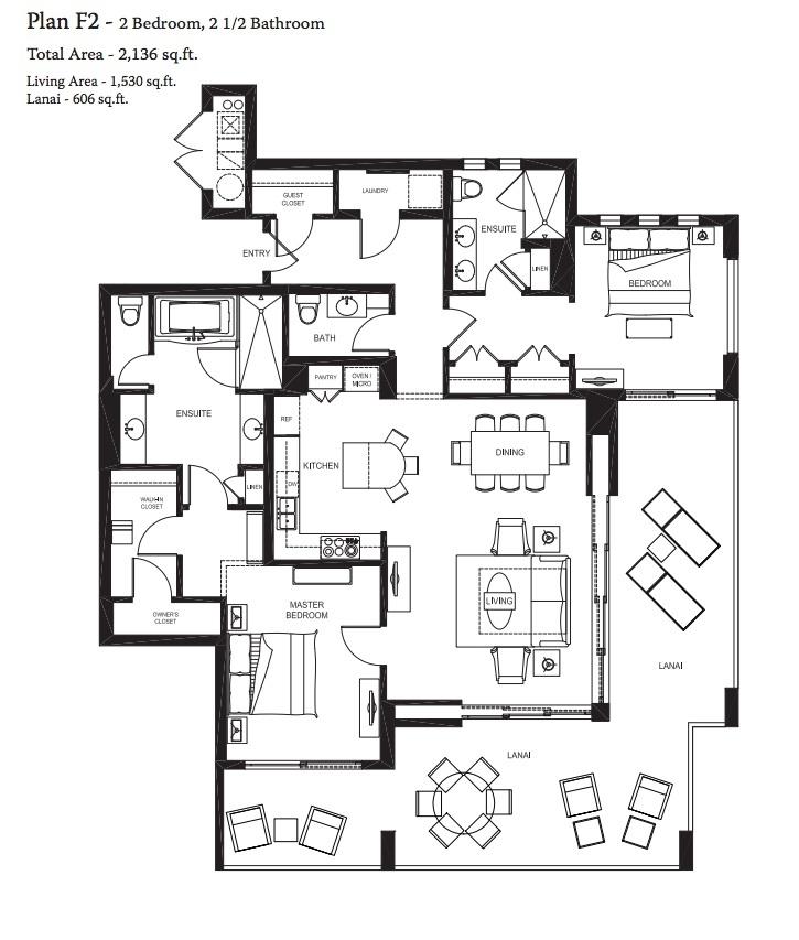 9 best floorplans images on pinterest kauai, floor plans and villas Beach House Plans Hawaii luxurious kauai beach villas at koloa landing resort beach house plans hawaii