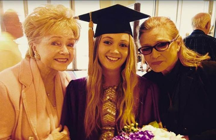 Debbie and carrie   Billie Lourd's gay stepdad's moving tribute to Carrie Fisher and ...