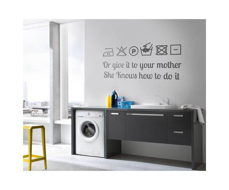 Stickers de vinilo para la zona de lavado puede ser for Stickers dalani