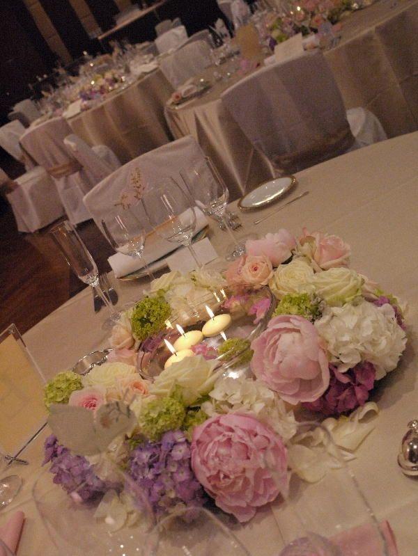 楽園 生涯を共に歩む テルニューオータニアーチェロ様へ : ゲストテーブル