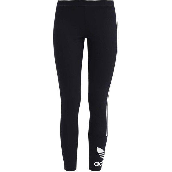adidas Originals Leggings black ❤ liked on Polyvore featuring pants, leggings, adidas originals, legging pants and adidas originals pants