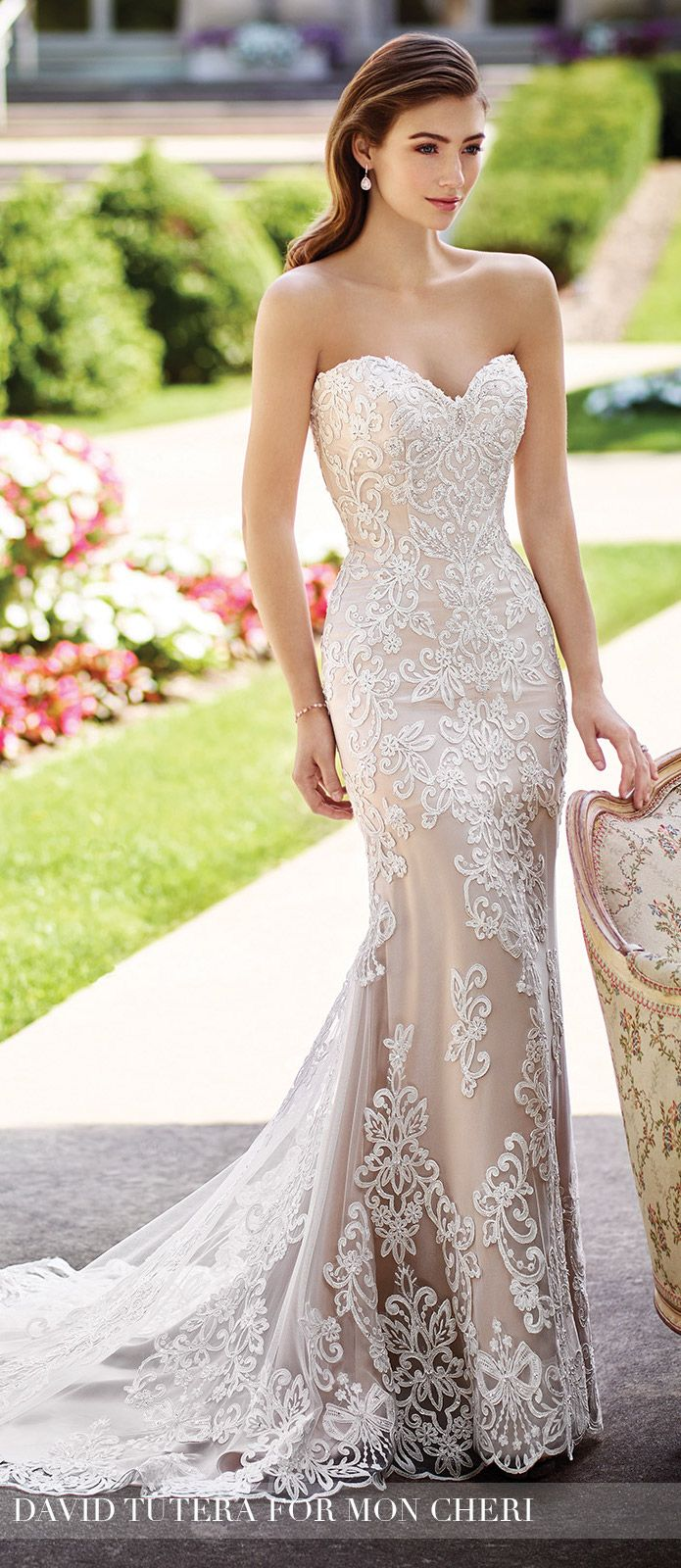 Wedding Dress by David Tutera for Mon Cheri 2017 Bridal Collection | Style No. » 117290 Roxanne
