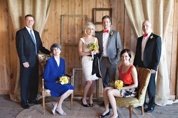 What a cool idea for unique family photos!!! Handmade North Carolina Wedding