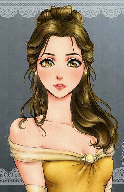 Disney the beauty and princess