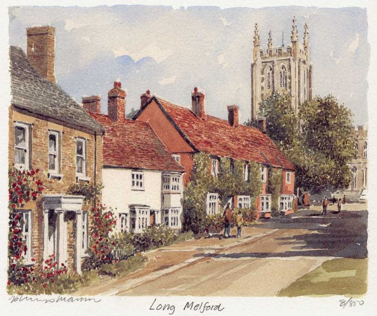 Long Melford - Portraits of Britain