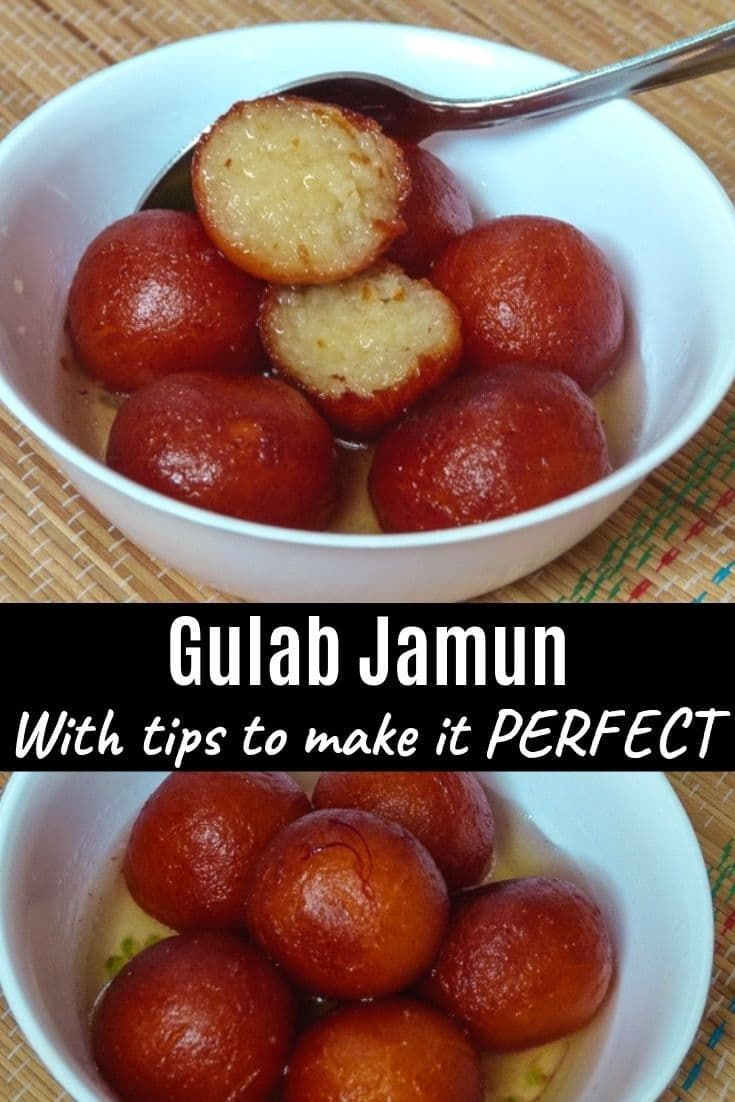 Gulab Jamun With Khoya Spice Up The Curry Recipe Gulab Jamun Recipe Jamun Recipe Indian Dessert Recipes