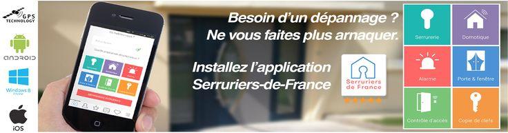 Serrurerie, Domotique, Alarme, Porte&Fenêtre, Contrôle d'accès, Copie de clef. Serruriers de France, l'outil indispensable.