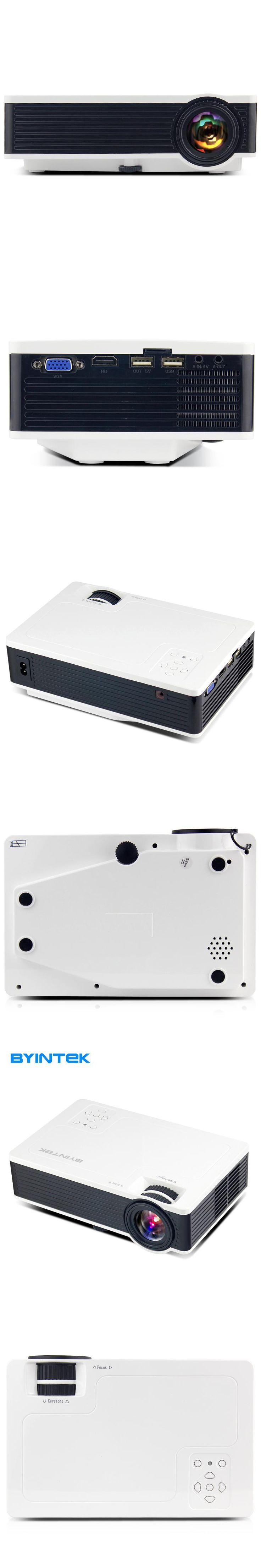 BYINTEK ML217 New USB 1800lumens Game Home Theater LED Digital Video Pico Mini Projector HD Proyector Projetor Beamer 1080P