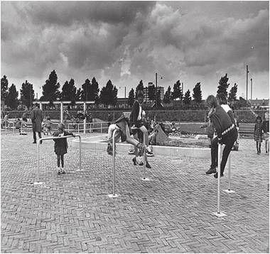 Amsterdam playgrounds by Aldo Van Eyck