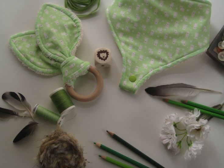 bib and teether for babies