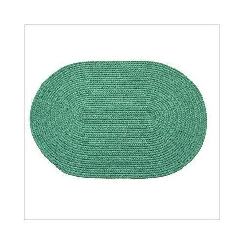 Rhody Rug 51-6 Solid Jade 6 ft. Round Braided Rug by Rhody Rug. $150.66. Solid Jade 6 Round Braided Rug. Great Gift Idea.. Design is stylish and innovative. Satisfaction Ensured.. Manufactured to the Highest Quality Available.. Classic styling, soft underfoot, long lasting and durable enough for indoor/outdoor use. Solid Jade 6 Round Braided Rug. Save 23%!