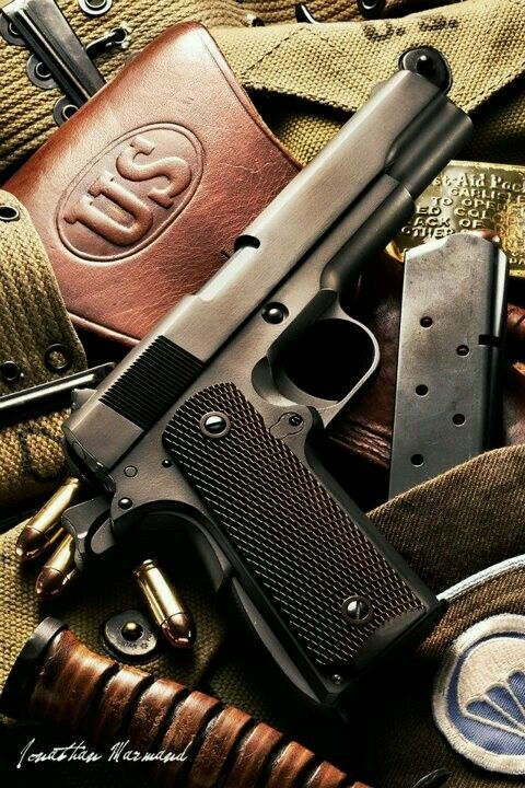 Colt M1911a1 // Photo captured by Jonathan Marmand