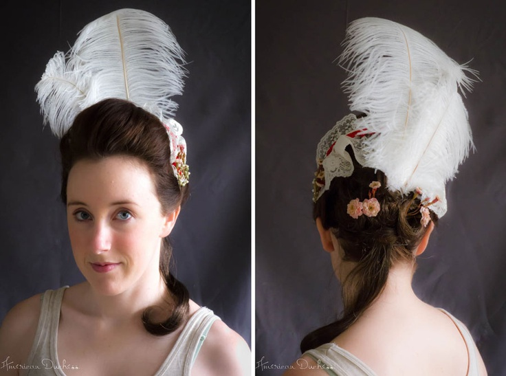 American Duchess:Historical Costuming: V54: How To Create A Simple 18th Century Pouf | Historical Costuming and sewing of Rococo 18th century clothing, 16th century through 20th century, by designer Lauren Reeser