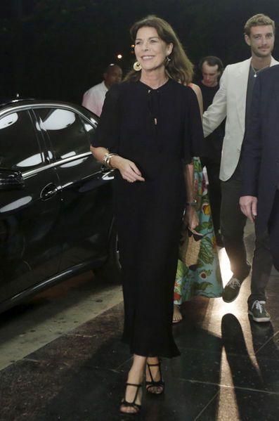 Avec Caroline de Monaco en photos - Beatrice Borromeo-Casiraghi fruitée à La…