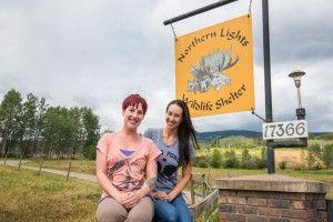 Contest Winners visit Northern Wildlife Animal Shelter