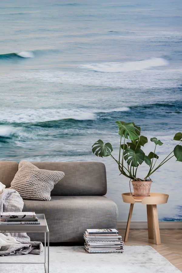 Storm Over The Mediterranean Wall Mural Picswe
