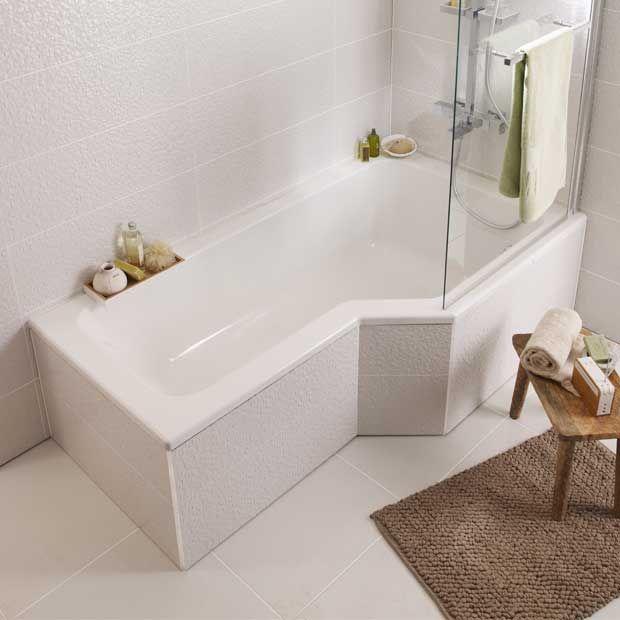Les 25 meilleures id es de la cat gorie baignoire douche for Baignoire fond plat