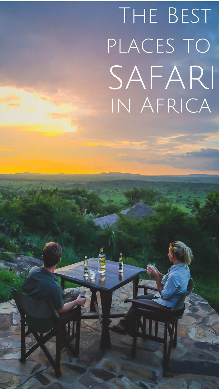 The best parks in South Africa, Zimbabwe, Zambia, Botswana, Kenya, Tanzania, Namibia, and more to travel to and enjoy a safari at.