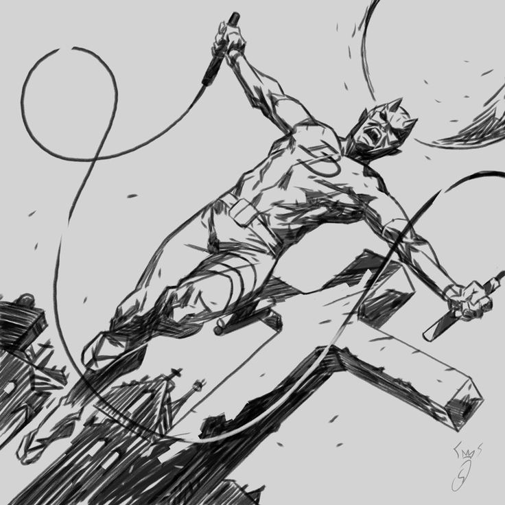 ArtStation - DD fan art, Fabio SHINDRA Danisi DareDevil Netflix