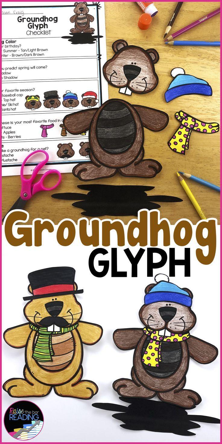 Raise The Bar Reading Raisethebarreading On Pinterest Groundhog Day Activities Groundhog Day Winter Crafts For Kids [ 1472 x 736 Pixel ]