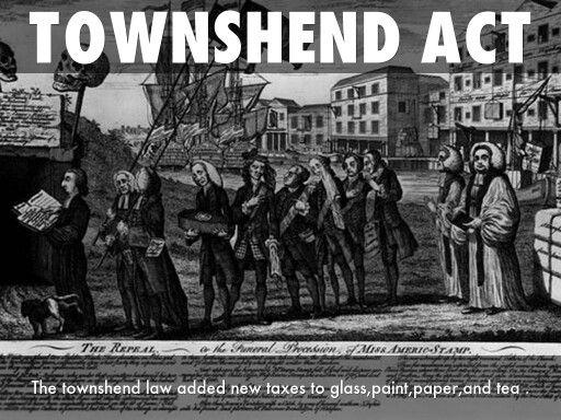 ... newspaper COLONIAL VIRGINIA Townshend Act PRE BOSTON MASSACRE   eBay