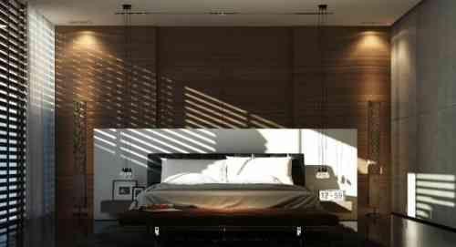 chambre à coucher élégante