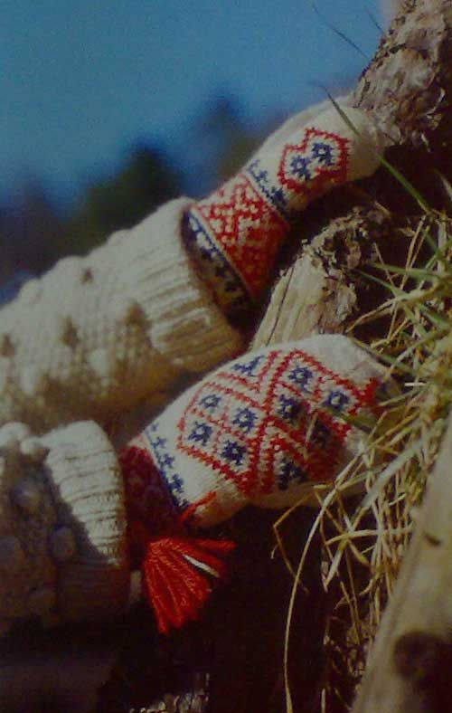 Sami Mittens from Kautokeino in Finnmark County, Norway - From THE ESSENCE OF THE GOOD LIFE™     http://www.pinterest.com/ConceptDesigner/   https://www.facebook.com/pages/The-Essence-of-the-Good-Life/367136923392157