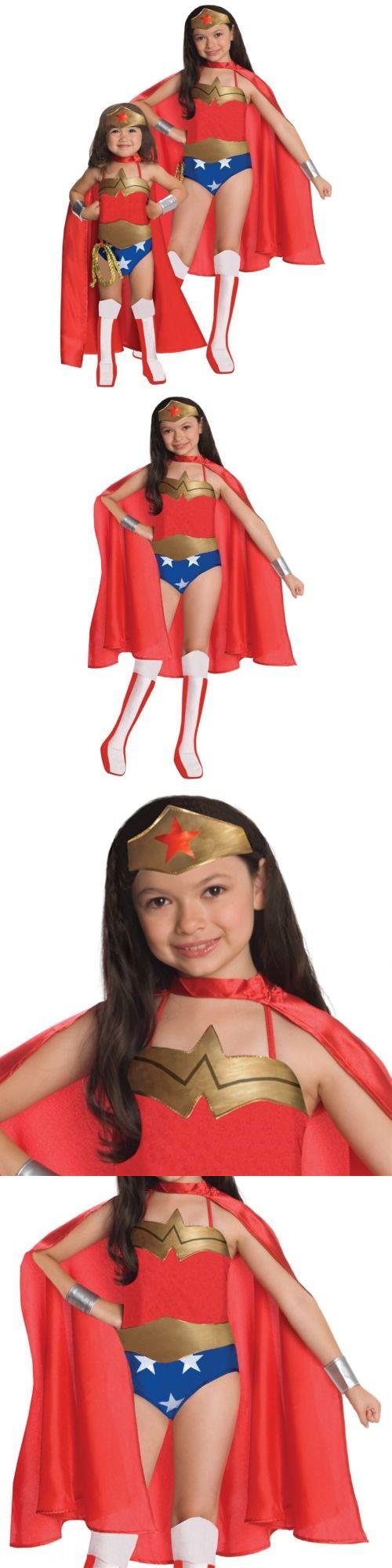 Kids Costumes: Wonder Woman Costume Kids Toddler Girls Superhero Halloween Fancy Dress -> BUY IT NOW ONLY: $30.49 on eBay!