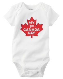 My First Canada Day Collectible Bodysuit