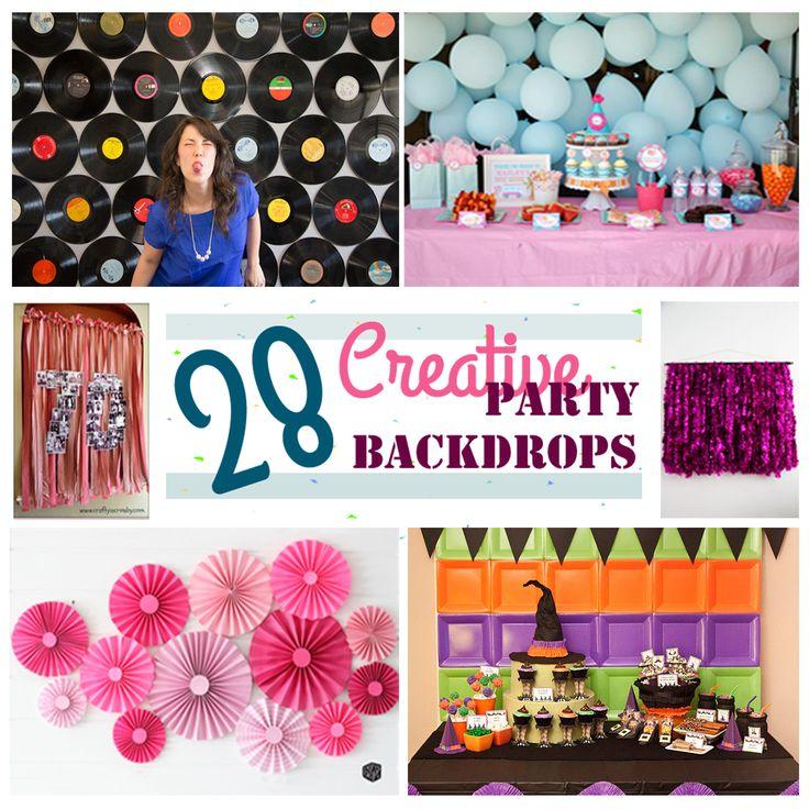 Best 25 Party Backdrops Ideas On Pinterest Diy Party