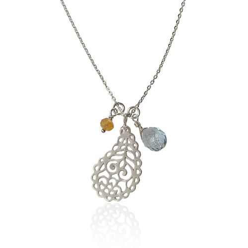 Ananda Soul Creations In Love With Life Necklace