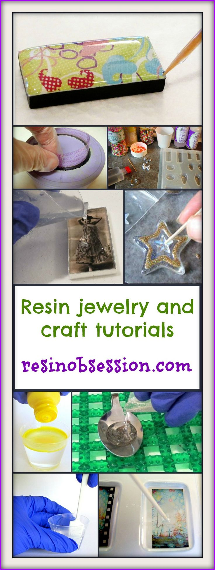 Resin for arts and crafts - Resin Obsession Blog Lots Of Tuts For Resin Jewelry And Resin Crafts