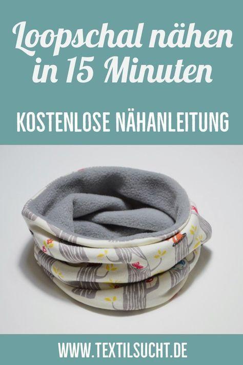 Instruções de costura: costurar em um lenço em laço em 15 minutos   – nähen