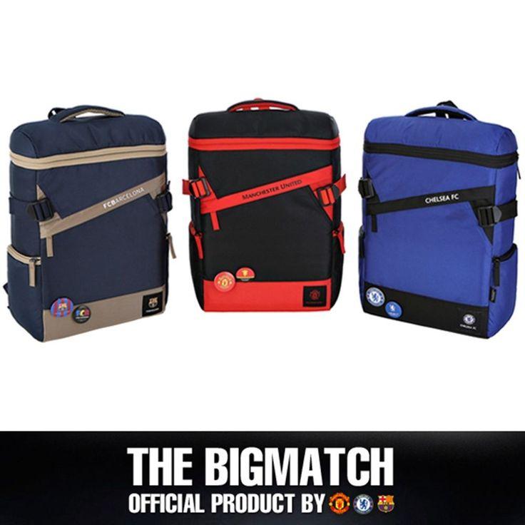 Manchester United Chelsea FC Barcelona Official backpack sport EPL bag BP5S09 #Eon #Backpack