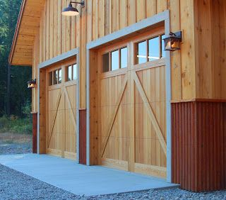 23 best images about siding ideas on pinterest cedar for Metal board and batten siding