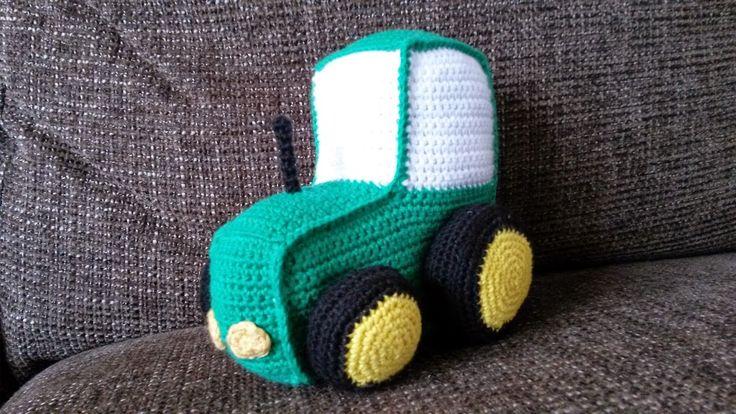 Opskrift hæklet traktor