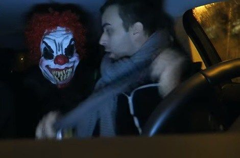Check This Out - A #Scary #Clown #Prank :)  #Boyfriend #Girlfriend #Prank #Joke #Fun #humor #Funny #video