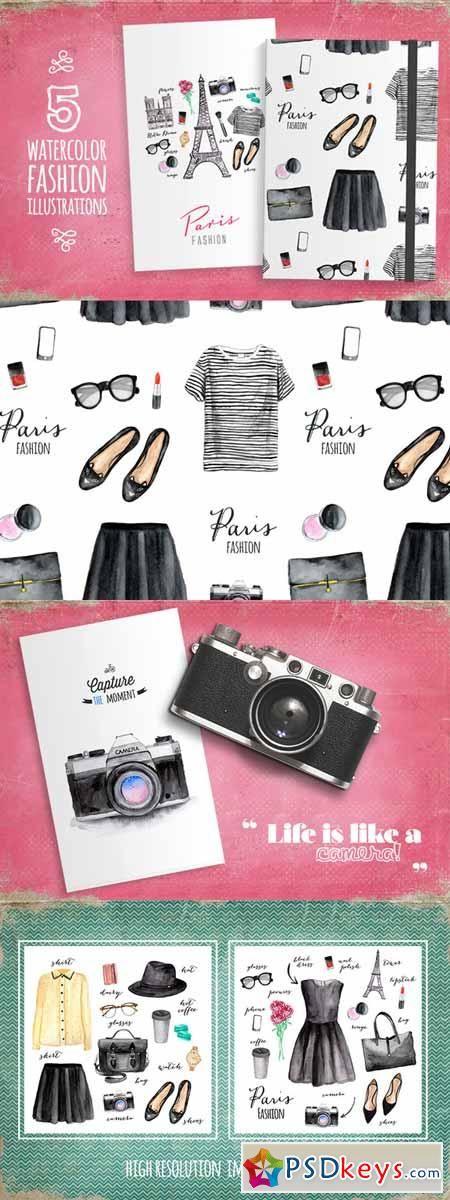 Paris style (fashion illustrations) 89698