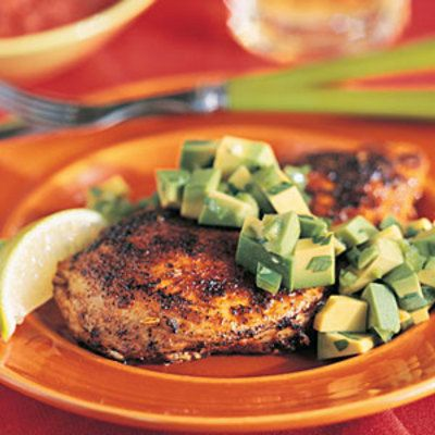 Seared Chicken With Avocado - 20 Tasty Diabetic-Friendly Recipes - Health.com