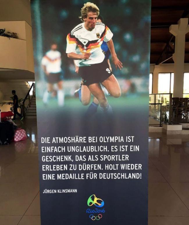 Bronze-Held macht unsere Olympia-Kicker heiß | Medaillen-Motivation von Klinsi - Olympia 2016 - Bild.de