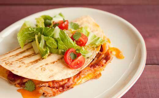 Epicure's Adobo Chicken Quesadillas