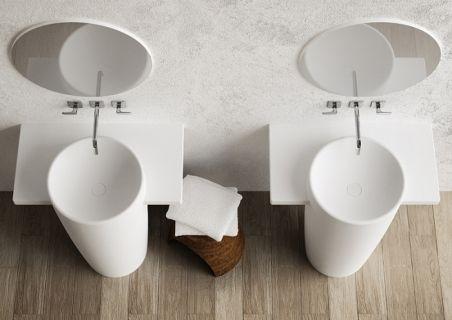 standing washbasin FEBE Marmorin #bathroom #umywalka #lazienka
