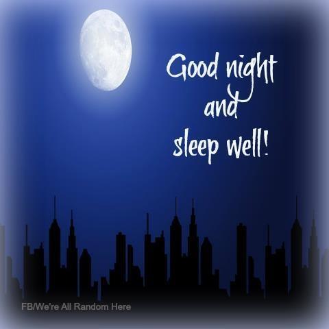 Sleep well ~ Dream <3