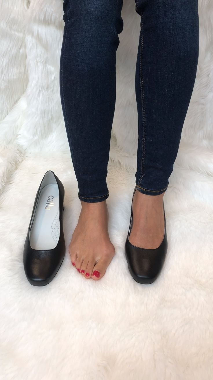 Gemma black leather video in 2020 comfortable shoes